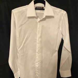 MIchael Kors Boys White Dress Shirt_Size 16